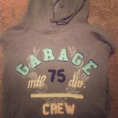 garage pulover like new garage brand pull hoodie grey with a light
