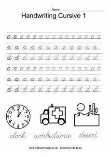 worksheets work cursive handwriting 22080 handwriting worksheets