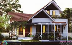 small house in kerala in 640 square feet 1800 square feet 3 bedroom sloped roof home kerala