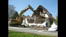 was kostet ein hausabriss haus abbruch abriss demolition of house zeitraffer