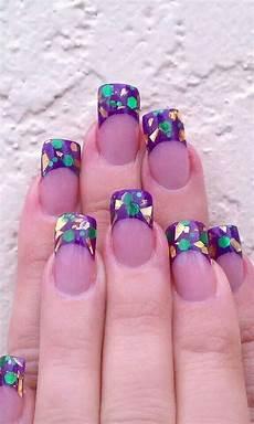 purple and gold mardi gras nails nails nail art
