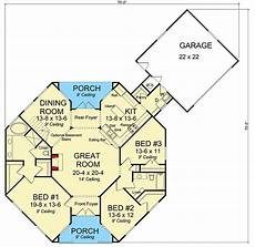 octagon shaped house plans octagonal cottage home plan 42262wm architectural