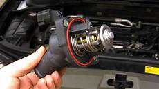 How To Ford Mondeo Focus Duratec He Thermostat