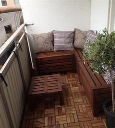 balkon sitzecke balkon gestalten mit wenig geld tipps und tricks