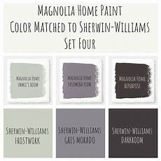 joanna gaines magnolia home paint color matched to sherwin williams modern farmhouse