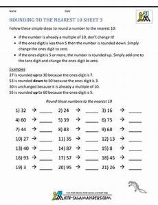 free worksheets on rounding numbers 8118 rounding worksheets to the nearest 10