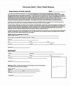 free 7 model release forms in pdf