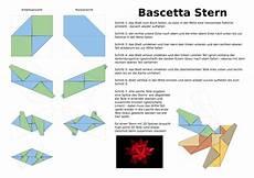 bascetta sterne basteln anleitung pdf