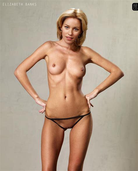 Elizabeth Banks Naked