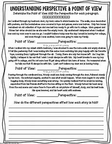 grammar worksheets consistent point of view 24725 perspective worksheet point of view pdf drive