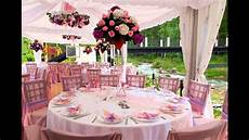 summer wedding table decorations youtube