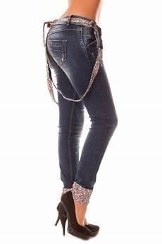 jean a bretelle femme slim fashion avec bretelle et motif en liberty