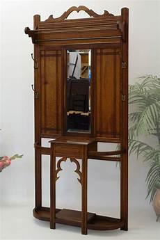 garderobe antik jugendstil garderobe wandgarderobe flurgarderobe jugendstil um 1900 eiche massiv ebay