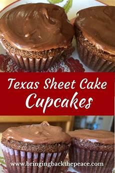 texas sheet cake cupcakes recipe cupcake recipes chocolate recipes desserts