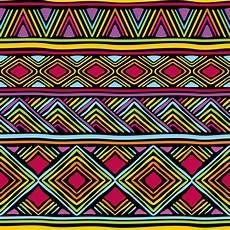 Afrikanische Muster Malvorlagen Gratis Afrikanische Linie Muster Vektor Abbildung Illustration