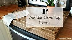 diy wooden stove top cover youtube