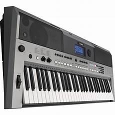 yamaha psr e443 yamaha psr e443 61 key portable keyboard psre443 b h photo
