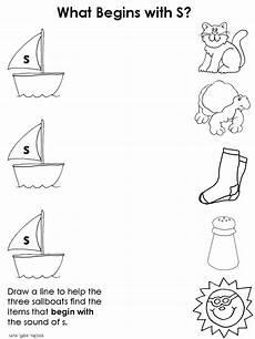 letter s worksheet for kindergarten 23528 kindergarten consonant activity pages preschool ideas the letter s activities