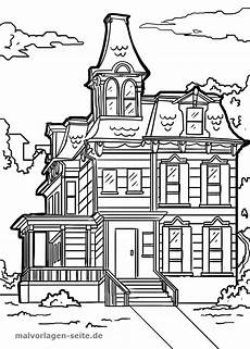 coloring page house building coloring page