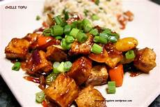 chilli tofu spices galore