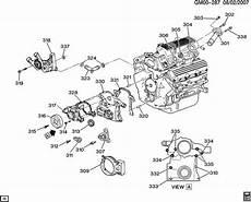 gm 3 8 liter engine vacuum diagram engine asm 3 8l v6 part 3 front cover and cooling