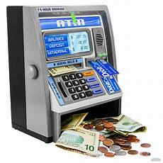 bid electronics my personal atm money coin bank machine with