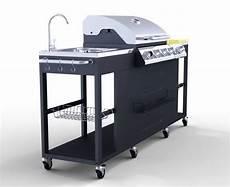 Outdoor Küche Edelstahl - 4 1 brenner edelstahl gro 223 en outdoor k 252 che gasgrill bbq