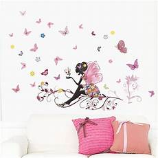 liketech fleurs et f 233 e arbre et papillons sticker