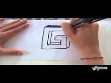 scrivere lettere d come disegnare la lettera g in 3d