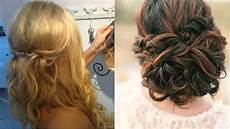 wedding guest hair half up half down for long hair hairdresser longfield kent youtube