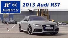 Audi Rs7 Farben - 2013 audi rs7 fahrbericht der probefahrt test