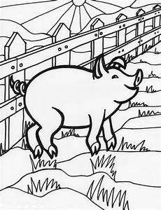 pig coloring pages getcoloringpages