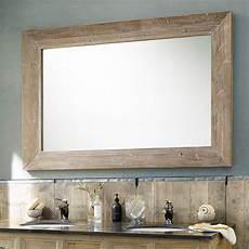 grand miroir en bois naturel miroir d 233 coration