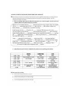english worksheets quiz to practice likes dislikes present simple and continuous