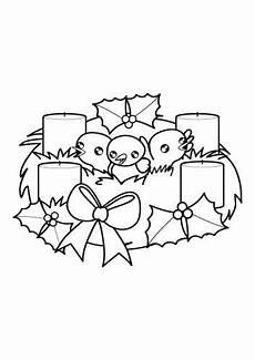 Malvorlagen Weihnachten Adventskranz Adventskranz Malvorlage Weihnachten Adventskranz Zum