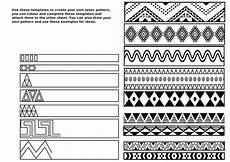 patterns worksheets ks2 133 creating aztec patterns by fayegw teaching resources tes