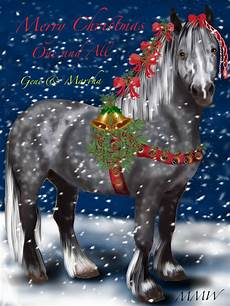 merry christmas percheron martha wilson