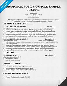 by jobresume resume career termplate free police officer resume resume objective