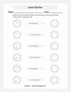 time worksheets earlier and later 2983 printable primary math worksheet for math grades 1 to 6 based on the singapore math curriculum