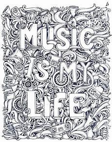Mandala Malvorlagen Musik Pin Auf Coloring Pages Doodles Zentangles