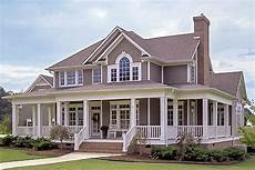 houses plans with wrap around porches country farmhouse with wrap around porch 16804wg