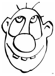 Malvorlage Mit Gesicht Gesicht Mit Drei Zaehnen Ausmalbild Malvorlage Comics