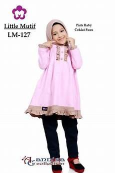 Gamis Mutif 127 jual blus anak mutif 127 pink baby di lapak annisa