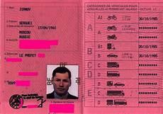 permis étranger en le permis de conduire fran 199 ais au nom de sergue 239 jirnov