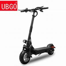 Ubgo Powerful Electric Scooter 1000w 48v Two Wheel