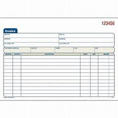 adams forms adams 174 carbonless invoice form books staples 174