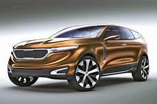 Hybrid Studie Kia Cross Gt Luxus Suv Chicago Auto Show