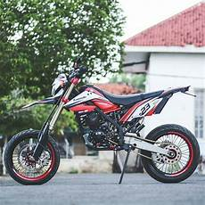 Modifikasi Supermoto by Kumpulan Modifikasi Motor Trail D Tracker Terupdate