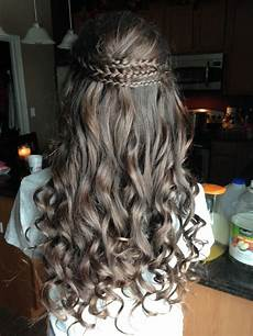Hairstyles For School Dances