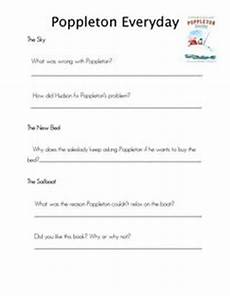 poppleton in winter free worksheets 20163 owens comprehension questions and comprehension on